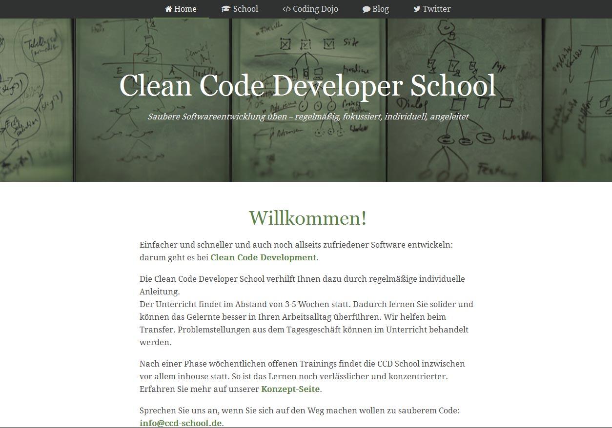 Clean Code Developer School