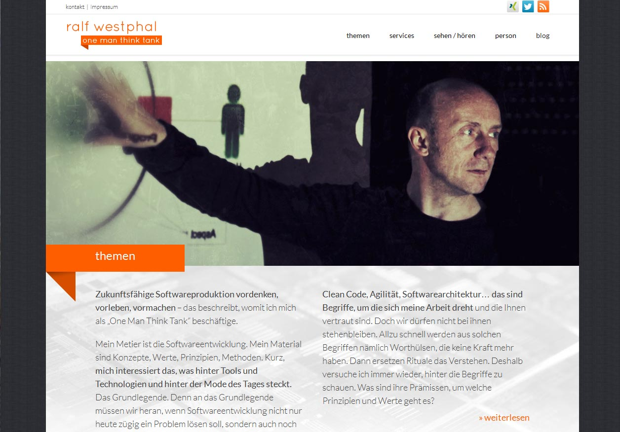 Ralf Westphal Responsive One Page