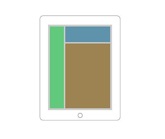 responsive iPad