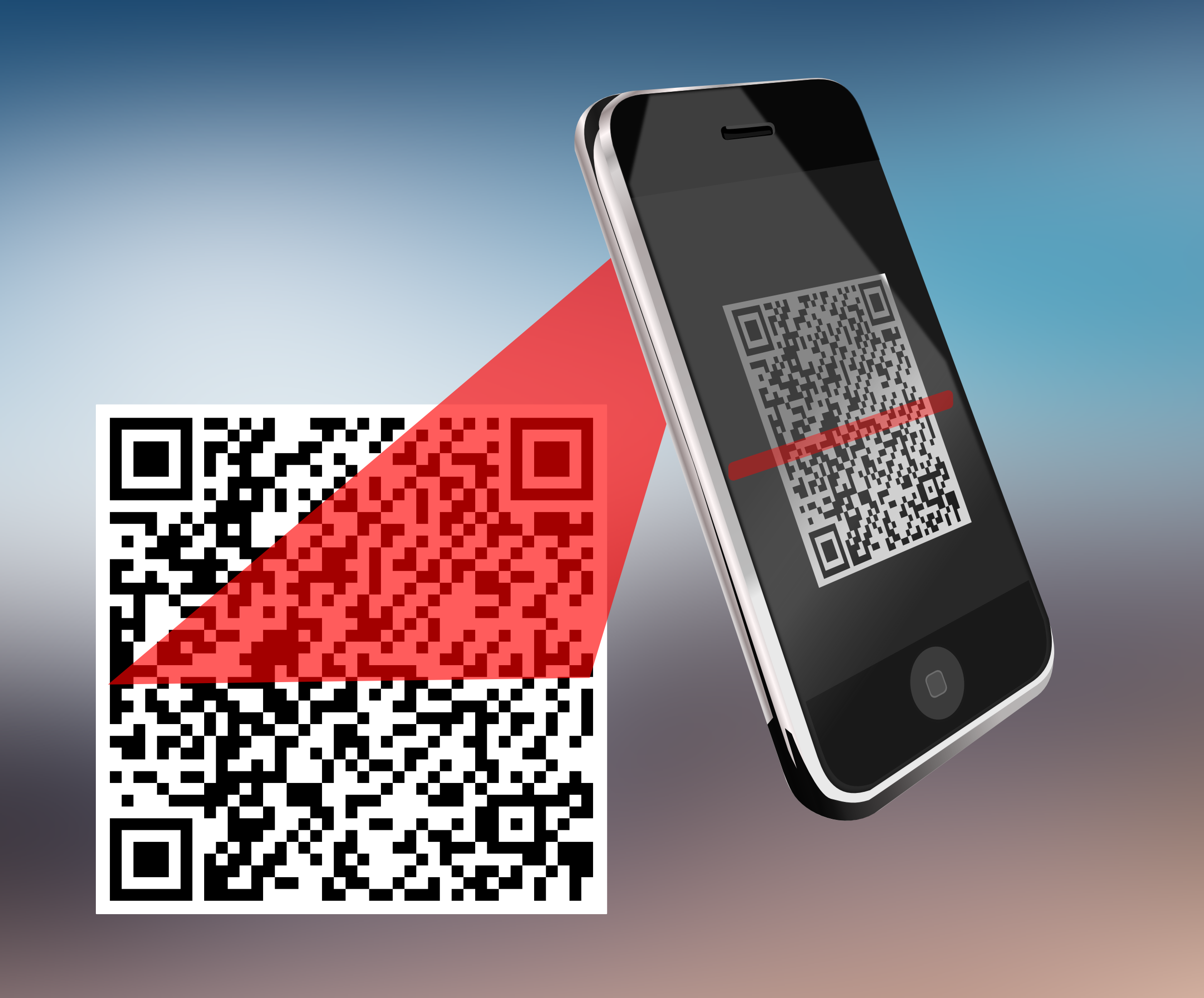responsive webdesign und wordpress qrcode