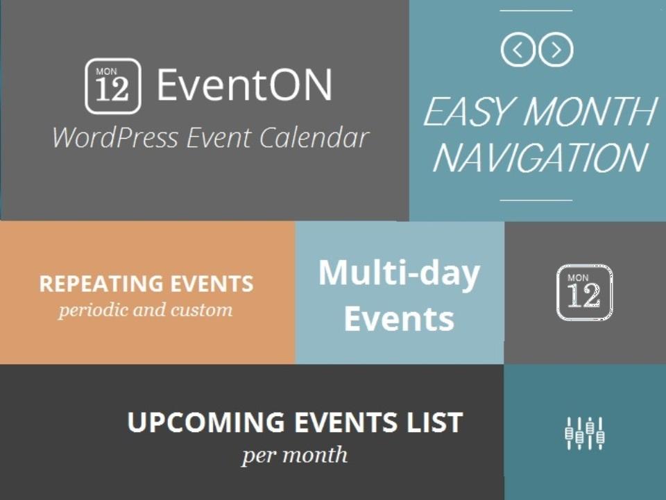 EventON – Events auf ihrer Webseite!